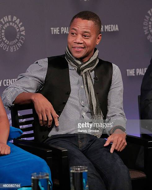 """Actor Cuba Gooding Jr. On the panel for """"The Book Of Negroes"""" Screening at The Paley Center for Media on December 16, 2014 in New York City."""