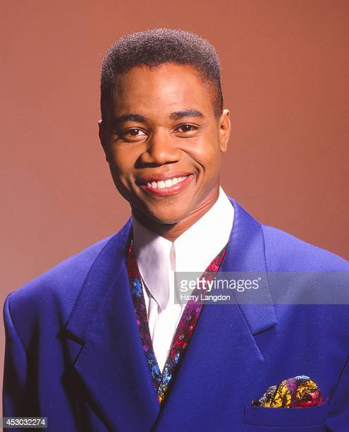 Actor Cuba Gooding Jr poses for a portrait in 1992 in Los Angeles California