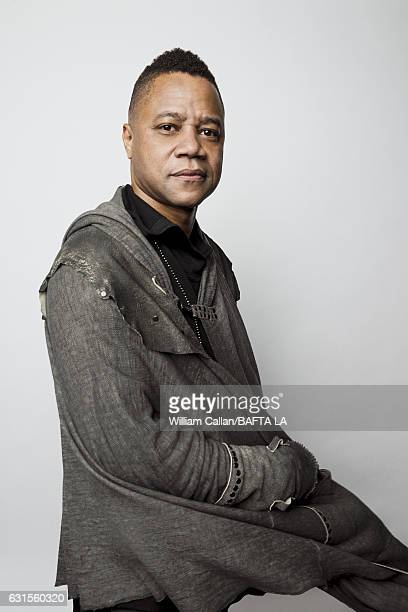 Actor Cuba Gooding Jr poses for a portraits at the BAFTA Tea Party at Four Seasons Hotel Los Angeles at Beverly Hills on January 7 2017 in Los...