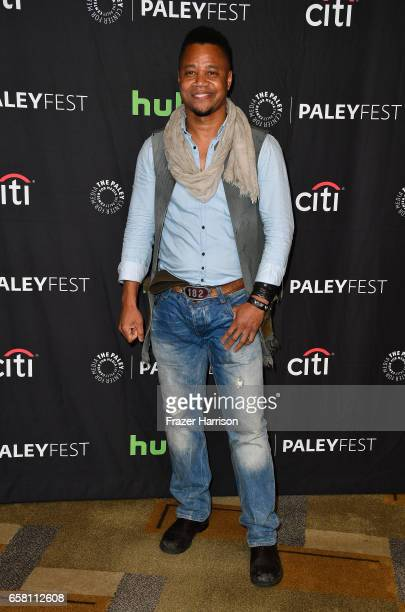 actor Cuba Gooding Jrattends The Paley Center For Media's 34th Annual PaleyFest Los Angeles 'American Horror Story 'Roanoke' screening and panel at...