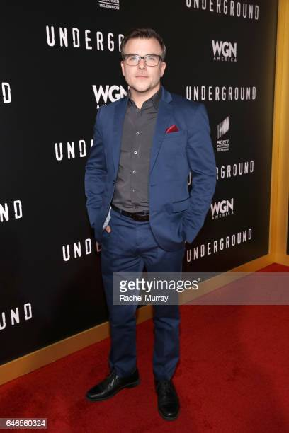 Actor Cullen Moss attends WGN America's Underground Season Two Premiere Screening at Regency Village Theatre on March 1 2017 in Westwood California