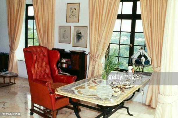 Actor Curd Juergens' house at Saint Paul de Vence, France 1978.