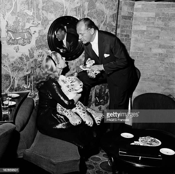 Actor Curd Jurgens In Paris For The Release Of Michel Strogoff En 1956 l'acteur Allemand Curd JURGENS et l'actrice Geneviève PAGE sont les vedettes...