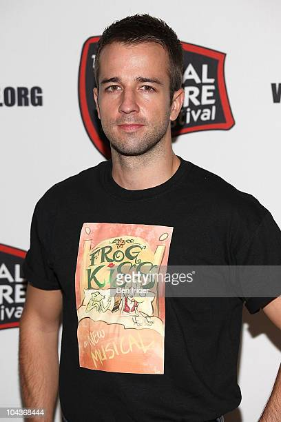 Actor Curtis Holbrook attends the New York Musical Theatre Festival 2010 musicals preview at New World Stages on September 22 2010 in New York City