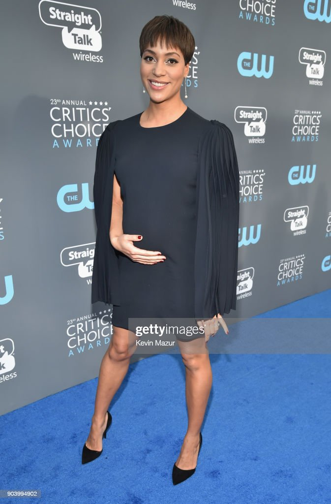 Actor Cush Jumbo attends The 23rd Annual Critics' Choice Awards at Barker Hangar on January 11, 2018 in Santa Monica, California.