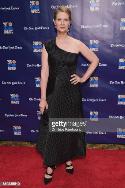 Actor Cynthia Nixon attends IFP's 27th Annual Gotham Independent Film Awards on November 27 2017 in New York City