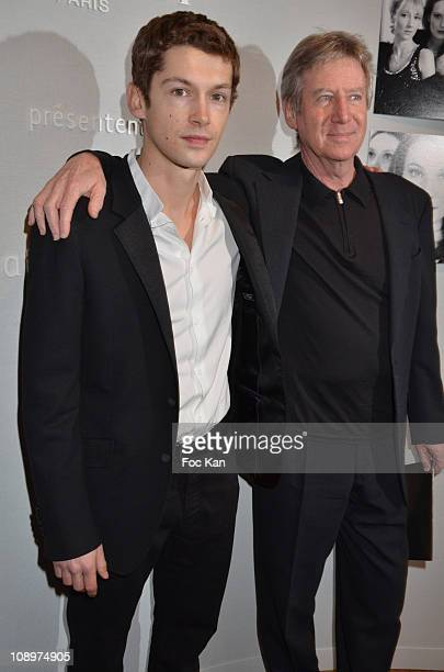 Actor Cyril Descours and director Regis Wargnier attend the Chaumet's Cocktail Party and Dinner for Cesar's Revelations 2011 at Hotel Chaumet and...