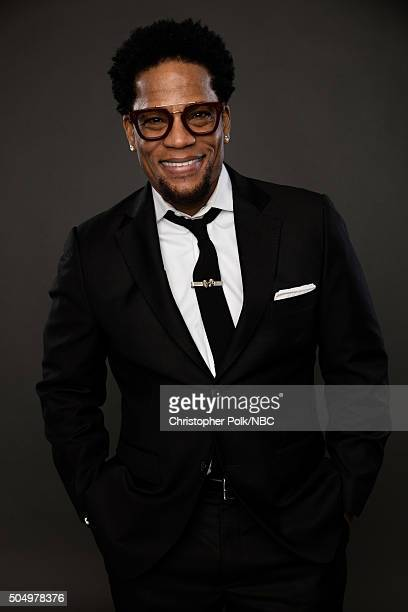 Actor D L Hughley poses for a portrait during the NBCUniversal Press Day at The Langham Huntington Pasadena on January 13 2016 in Pasadena California...