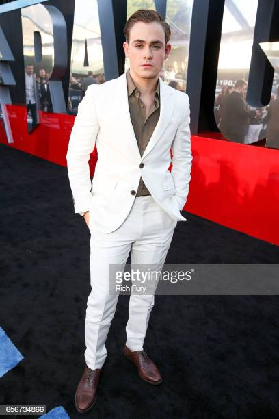 Actor Dacre Montgomery arrives at the premiere of Lionsgate's Power Rangers at the Westwood Village Theatre on March 22 2017 in Westwood California