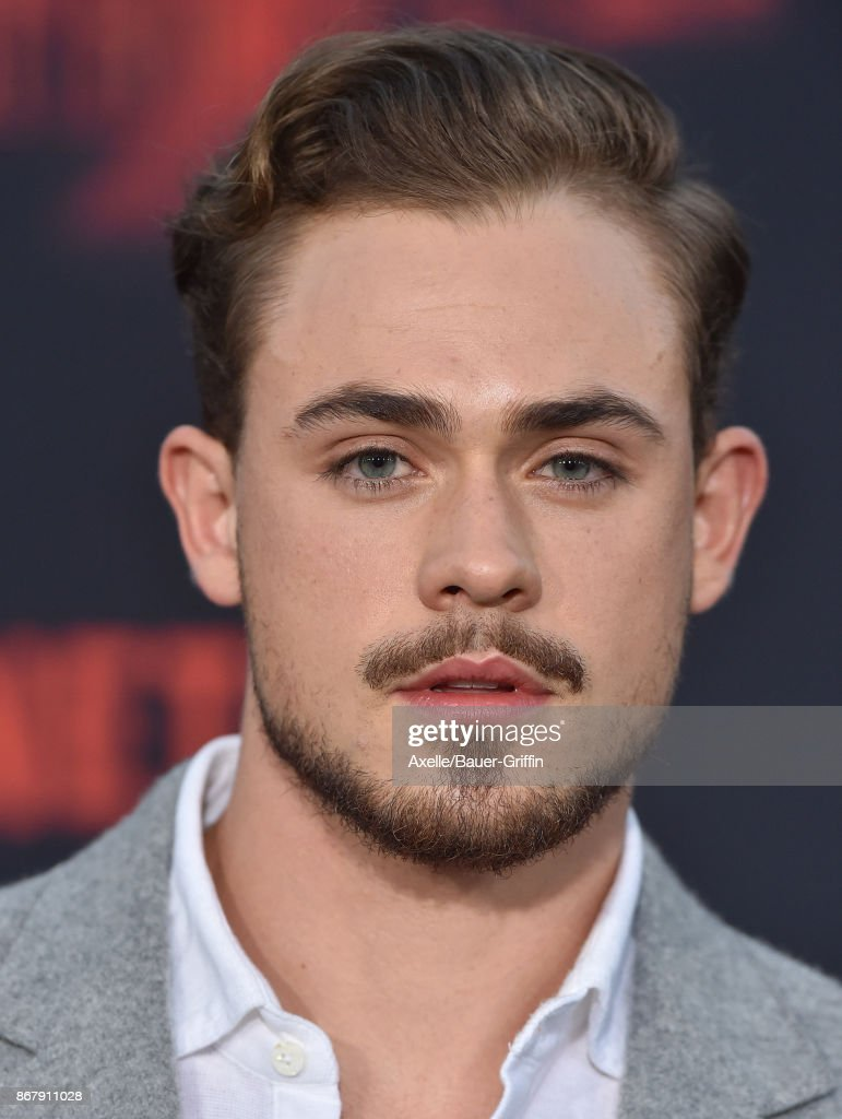 Actor Dacre Montgomery arrives at the premiere of Netflix's 'Stranger Things' Season 2 at Regency Bruin Theatre on October 26, 2017 in Los Angeles, California.
