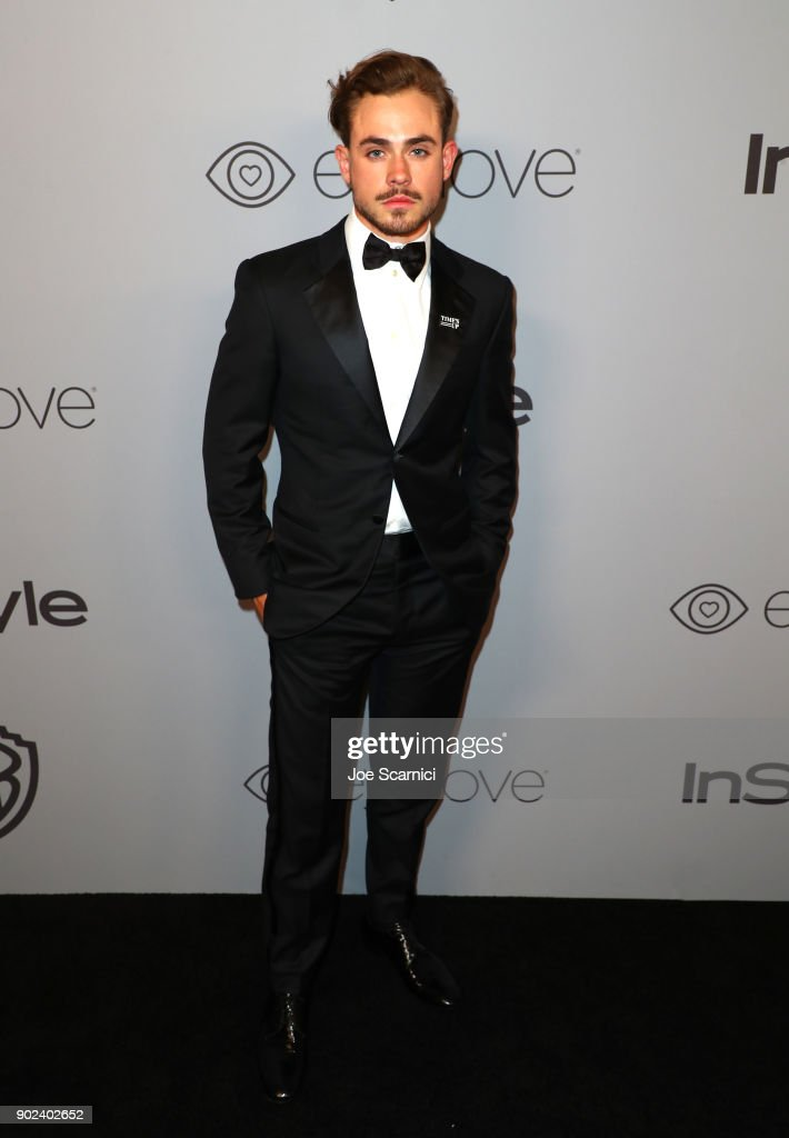 Actor Dacre Montgomery attends the 2018 InStyle and Warner Bros. 75th Annual Golden Globe Awards Post-Party at The Beverly Hilton Hotel on January 7, 2018 in Beverly Hills, California.