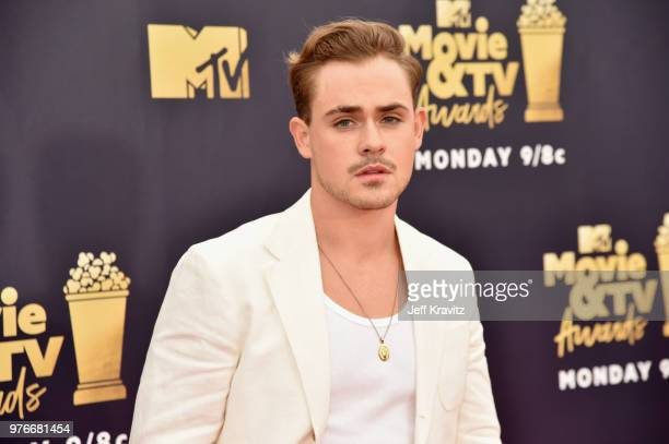 Actor Dacre Montgomery attends the 2018 MTV Movie And TV Awards at Barker Hangar on June 16 2018 in Santa Monica California