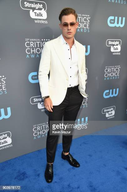 Actor Dacre Montgomery attends The 23rd Annual Critics' Choice Awards at Barker Hangar on January 11 2018 in Santa Monica California