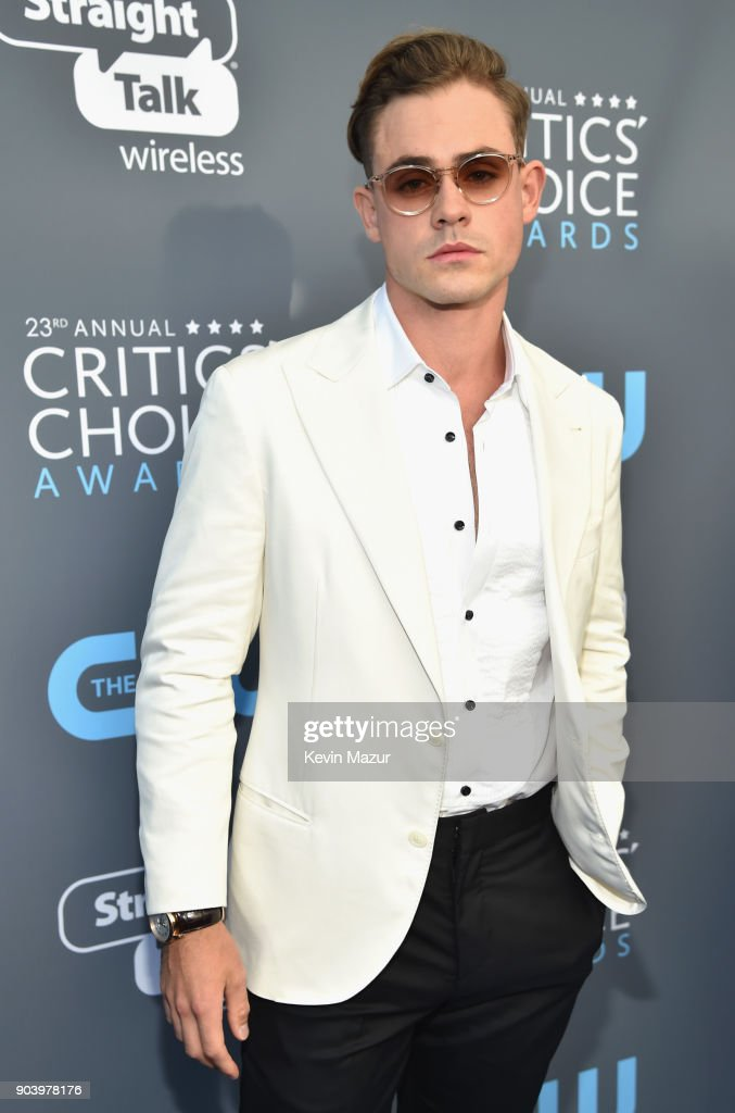 Actor Dacre Montgomery attends The 23rd Annual Critics' Choice Awards at Barker Hangar on January 11, 2018 in Santa Monica, California.