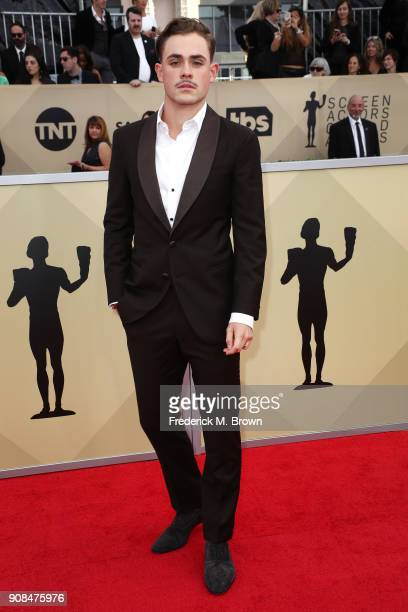 Actor Dacre Montgomery attends the 24th Annual Screen Actors Guild Awards at The Shrine Auditorium on January 21 2018 in Los Angeles California...