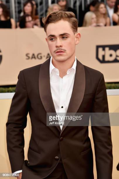 Actor Dacre Montgomery attends the 24th Annual Screen ActorsGuild Awards at The Shrine Auditorium on January 21 2018 in Los Angeles California