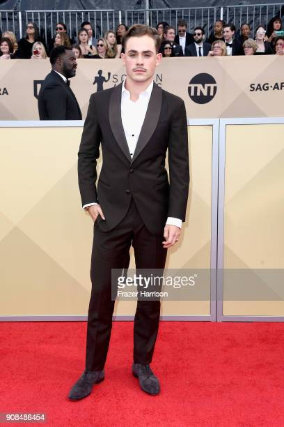 Actor Dacre Montgomery attends the 24th Annual Screen Actors Guild Awards at The Shrine Auditorium on January 21 2018 in Los Angeles California