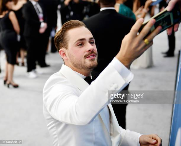 Actor Dacre Montgomery attends the 26th annual Screen ActorsGuild Awards at The Shrine Auditorium on January 19 2020 in Los Angeles California