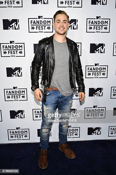 Actor Dacre Montgomery attends the MTV Fandom Awards San Diego at PETCO Park on July 21 2016 in San Diego California