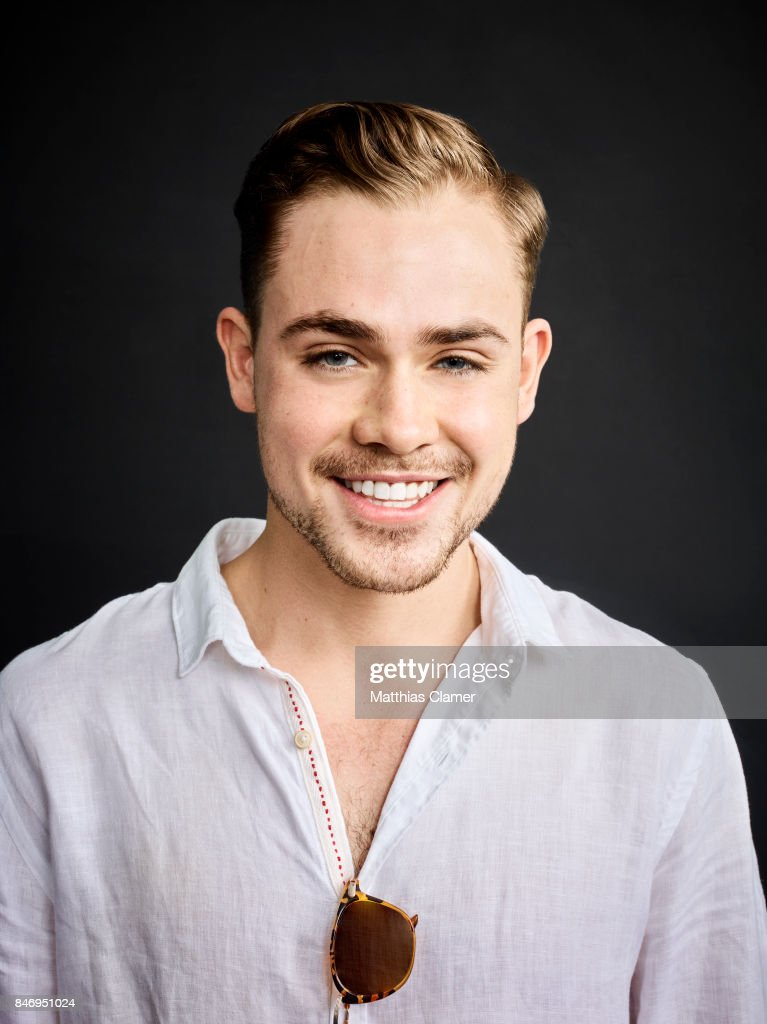 Actor Dacre Montgomery from 'Power Rangers' is photographed for Entertainment Weekly Magazine on July 22, 2016 at Comic Con in the Hard Rock Hotel in San Diego, California.