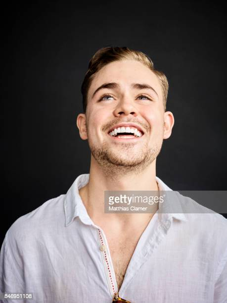 Actor Dacre Montgomery from 'Power Rangers' is photographed for Entertainment Weekly Magazine on July 22 2016 at Comic Con in the Hard Rock Hotel in...