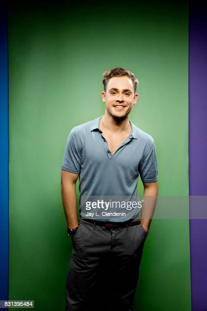 Actor Dacre Montgomery from the television series Stranger Things is photographed in the LA Times photo studio at ComicCon 2017 in San Diego CA on...