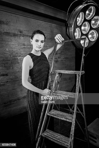 Actor Daisy Ridley is photographed for Empire magazine on March 20 2016 in London United Kingdom