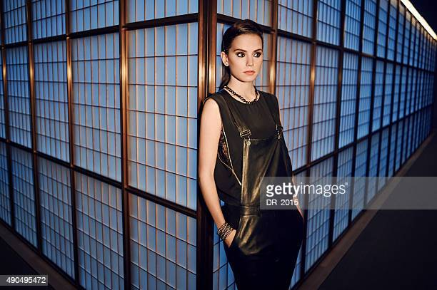 Actor Daisy Ridley is photographed on February 20 2014 in London England