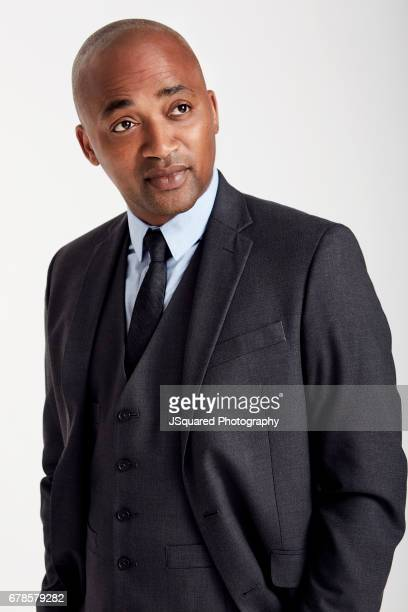 Actor DaJuan Johnson is photographed for Self Assignment on February 17, 2017 in Los Angeles, California