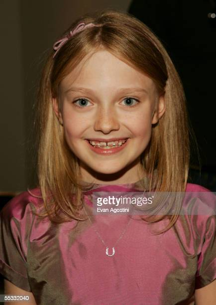 """Actor Dakota Fanning attends the DreamWorks premiere of """"Dreamer: Inspired By A True Story"""" at Roy Thompson Hall during the 2005 Toronto..."""