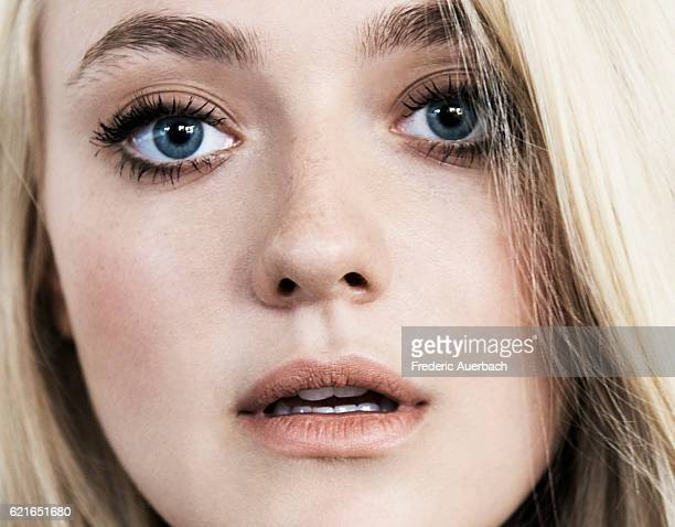 Actor Dakota Fanning is photographed for Malibu Magazine on August 24 2016 in Los Angeles California