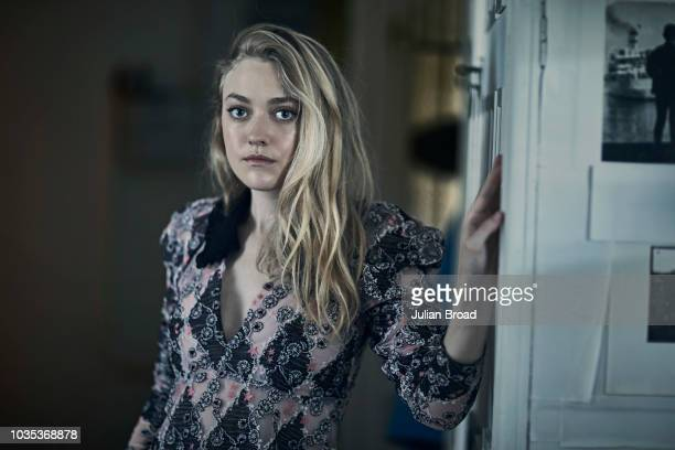 AUGUST 26 Actor Dakota Fanning is photographed for Vogue magazine on August 26 2017 in Budapest Hungary