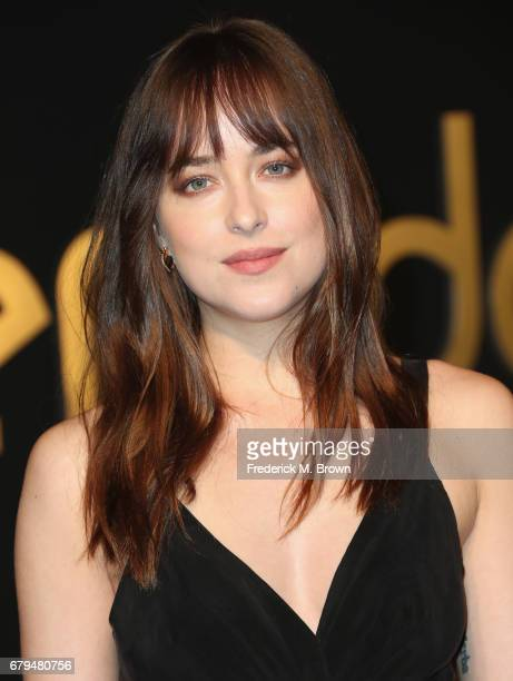 Actor Dakota Johnson attends Panthere De Cartier Party In LA at Milk Studios on May 5 2017 in Los Angeles California