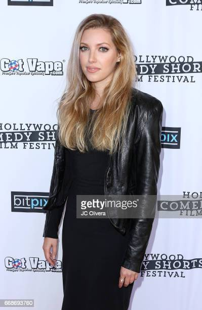 Actor Dalal Bruchmann attends the Hollywood Comedy Shorts Film Festival opening night party at Adults Only on April 14 2017 in Los Angeles California