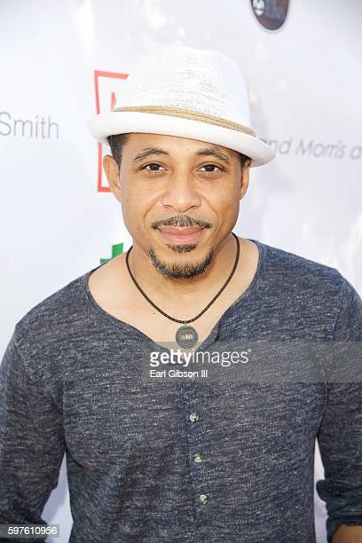 Actor Dale Godboldo attends the 4th Annual Kailand Obasi HoopLife Fundraiser at USC Galen Center on August 28 2016 in Los Angeles California