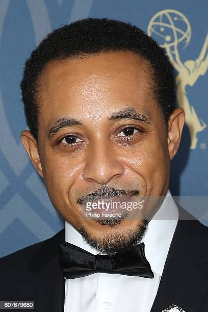 Actor Dale Godboldo attends the FOX Broadcasting Company FX National Geographic and Twentieth Century Fox Television's 68th Primetime Emmy Awards...