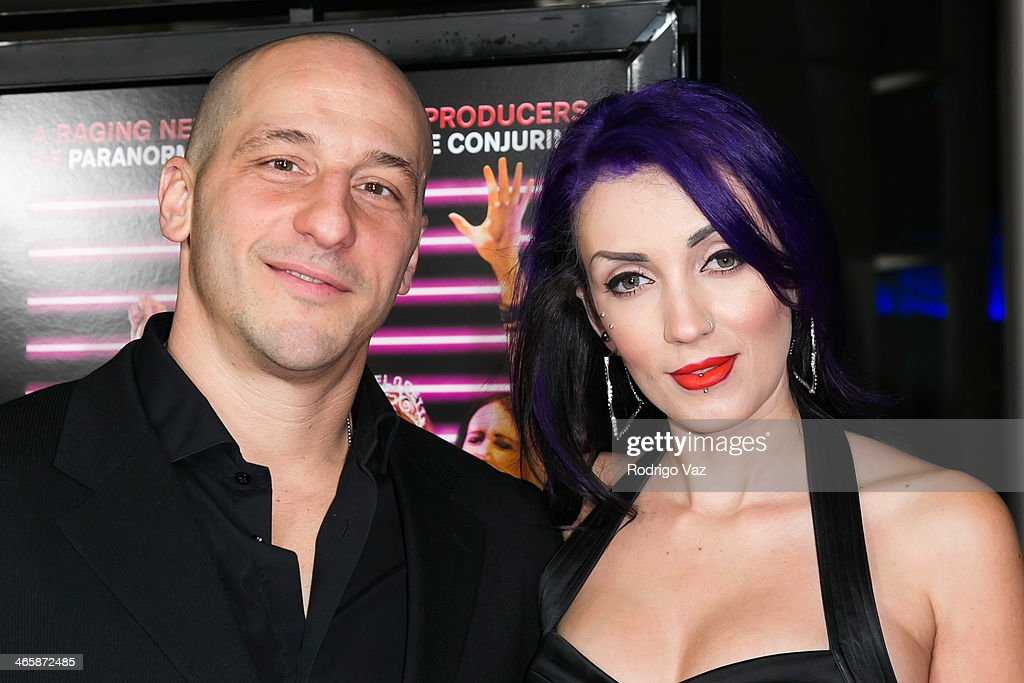 Actor Dale Pavinsky (L) and Ariane Farro attends the 'Best Night Ever' Los Angeles Premiere at ArcLight Cinemas on January 29, 2014 in Hollywood, California.