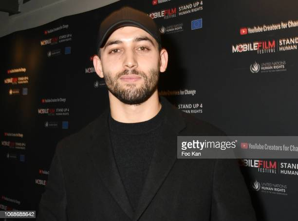 Actor Dali Benssalah attends the 'Mobile Film Festival Stand Up 4 Human Rights Awards' Ceremony Hosted by Youtube Creators For Change at Cinema MK2...
