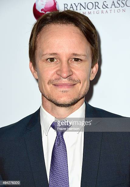 Actor Daman Herriman arrives at the 4th Annual Australians In Film - Awards Benefit Dinner And Gala at InterContinental Hotel on October 25, 2015 in...
