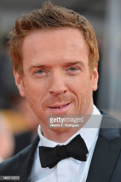 Actor Damian Lewis arrives at the 19th Annual Screen Actors Guild Awards held at The Shrine Auditorium on January 27 2013 in Los Angeles California