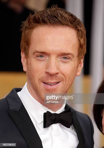 Actor Damian Lewis arrives at the19th Annual Screen Actors Guild Awards held at The Shrine Auditorium on January 27 2013 in Los Angeles California