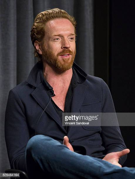 Actor Damian Lewis attends a career retrospective for SAG-AFTRA Foundation Conversations series at SAG-AFTRA Foundation on April 27, 2016 in Los...