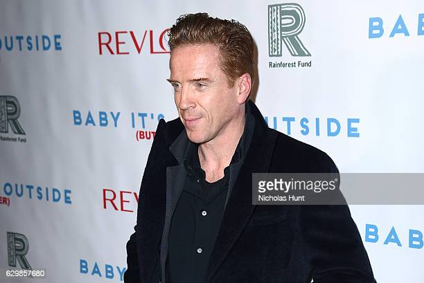 Actor Damian Lewis attends Baby It's Cold Outside The 2016 Revlon Holiday Concert for The Rainforest Fund Gala at JW Marriott Essex House on December...