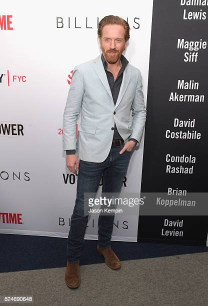 Actor Damian Lewis attends For Your Consideration Screening and Panel for Showtime's Billions at The WGA Theater on April 26 2016 in Beverly Hills...
