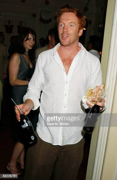 Actor Damian Lewis attends Jonny Lee Miller's Motorola Grand Classics Screening of his favourite film 'Singin' In The Rain' at the Electric Cinema on...