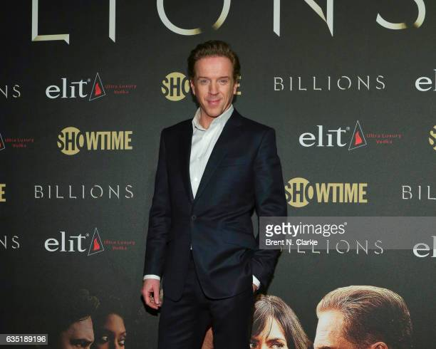 Actor Damian Lewis attends Showtime's 'Billions' Season 2 premiere held at Cipriani 25 Broadway on February 13 2017 in New York City