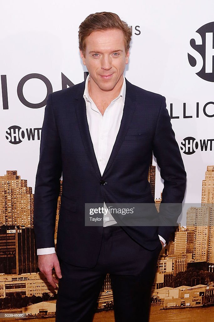 Actor Damian Lewis attends Showtime's 'Billions' series premiere at Museum of Modern Art on January 7, 2016 in New York City.
