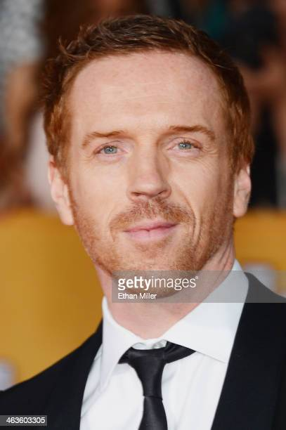 Actor Damian Lewis attends the 20th Annual Screen Actors Guild Awards at The Shrine Auditorium on January 18, 2014 in Los Angeles, California.