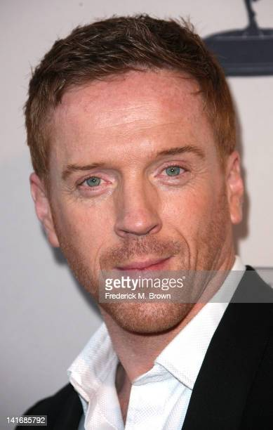 """Actor Damian Lewis attends The Academy of Television Arts & Sciences Presents an Evening with """"Homeland"""" at the Leonard H. Goldenson Theatre on March..."""