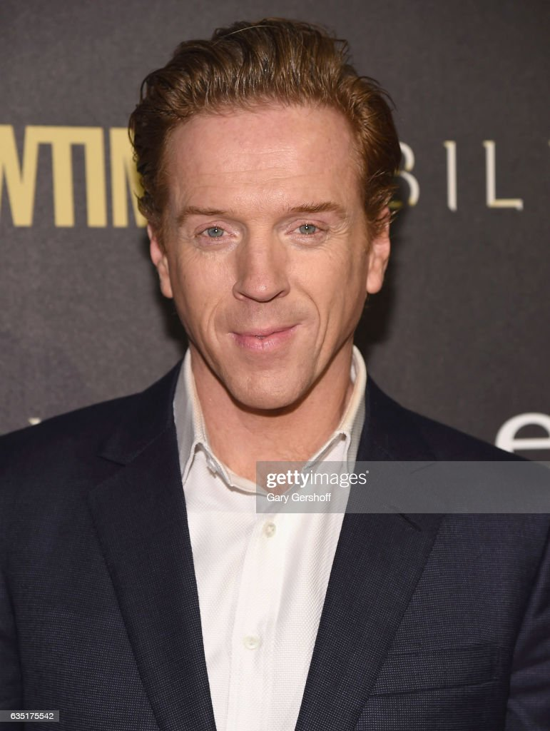 Actor Damian Lewis attends the 'Billions' Season 2 premiere at Cipriani 25 Broadway on February 13, 2017 in New York City.